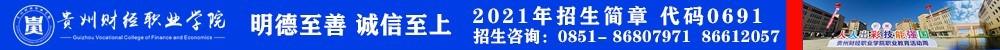 贵州财职院广告通栏