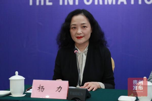 省委宣传部二级巡视员、媒体联络处处长 杨力主持发布会